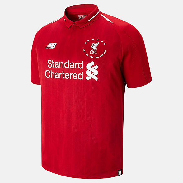 New Balance LFC 6 Times 18/19 Home SS Jersey, MT930501HME