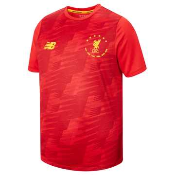 New Balance LFC 6 Times Lightweight Tee, Red Pepper