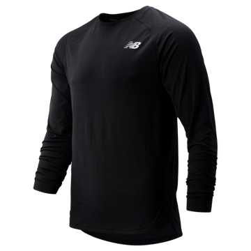 New Balance R.W.T. Long Sleeve Top, Black