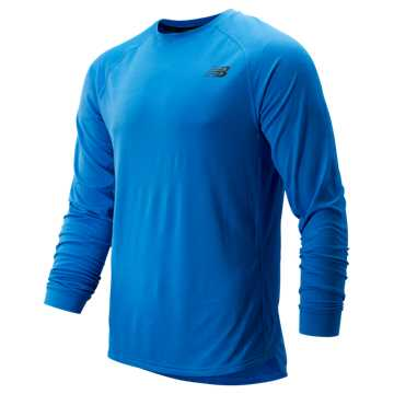 New Balance R.W.T. Long Sleeve Top, Lapis Blue