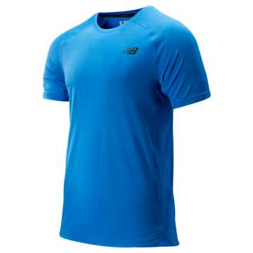 New Balance R.W.T. Short Sleeve Top, Lapis Blue
