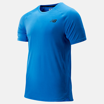 New Balance R.W.T. Short Sleeve Top, MT93051LBE image number null
