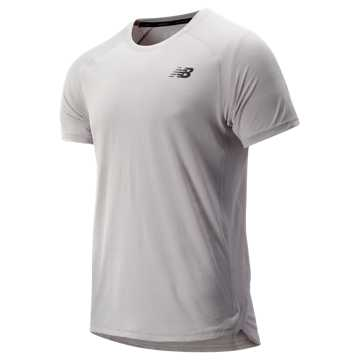 New Balance R.W.T. Short Sleeve Top, Overcast