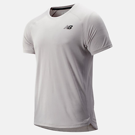 New Balance R.W.T. Short Sleeve Top, MT93051OVC image number null
