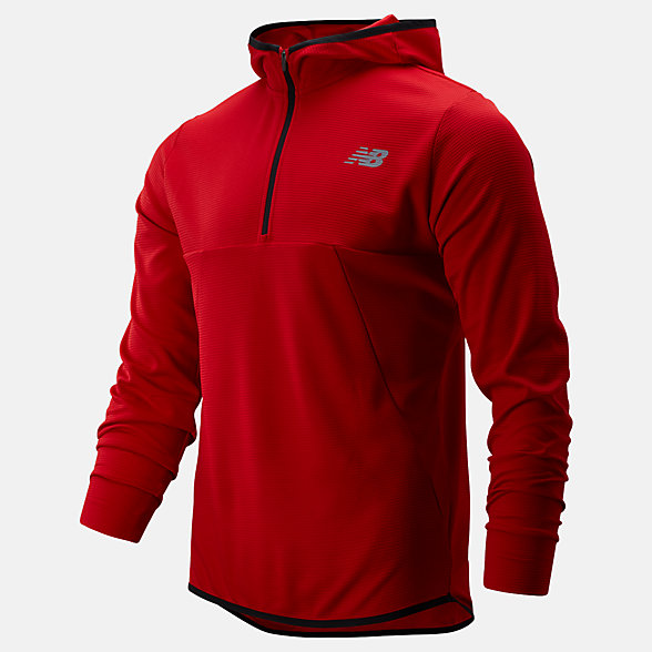New Balance Tenacity Hooded QTR Zip, MT93089REP