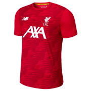 NB Liverpool FC Off-pitch Lightweight Tee, Team Red with White