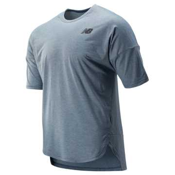 New Balance Reclaim Hybrid Short Sleeve, Chambray