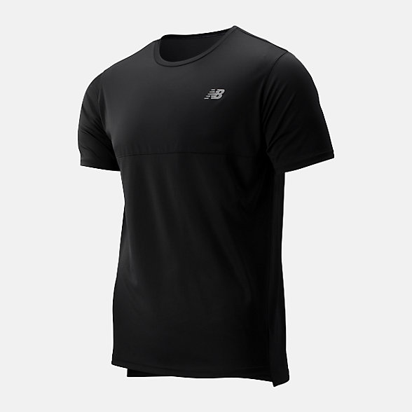 NB Accelerate Short Sleeve, MT93180BK