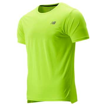 New Balance Accelerate Short Sleeve, Hi Lite