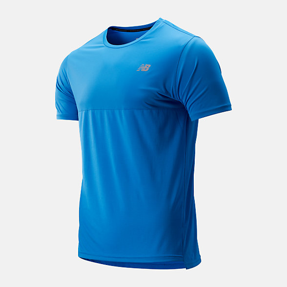 NB Accelerate Short Sleeve, MT93180LBE