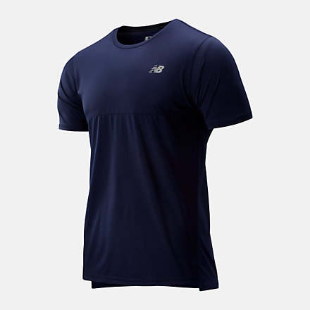 New Balance Accelerate Short Sleeve, MT93180PGM image number null