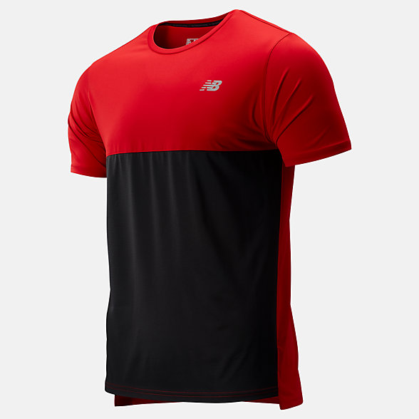 New Balance Accelerate Short Sleeve, MT93180REP