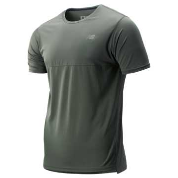 New Balance Accelerate Short Sleeve, Slate Green