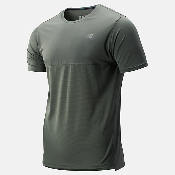 New Balance Accelerate Short Sleeve, MT93180SLG