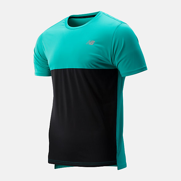 NB Accelerate Short Sleeve, MT93180VDE
