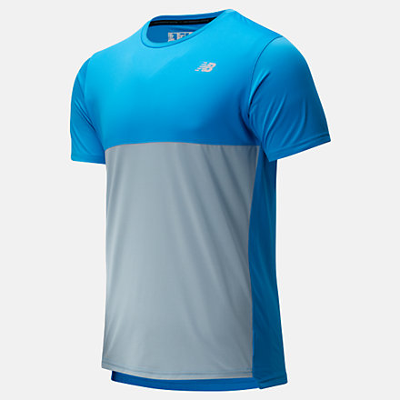 New Balance Accelerate Short Sleeve, MT93180VSB image number null