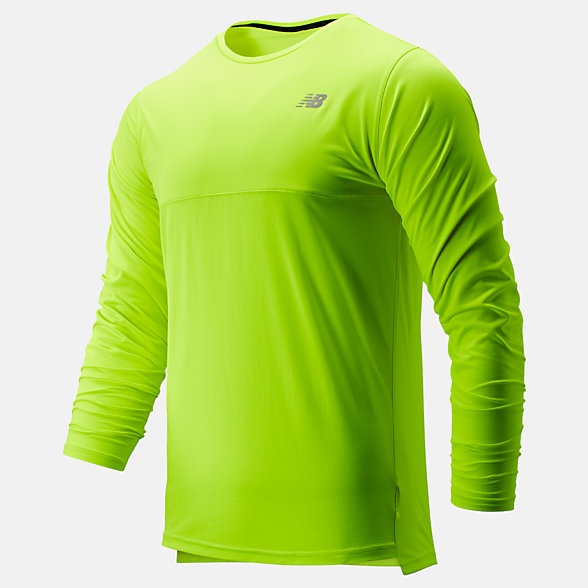 NB Accelerate Long Sleeve, MT93182HIL