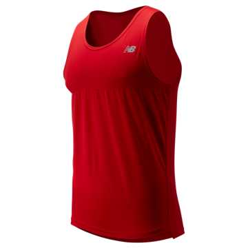 New Balance Accelerate Singlet, Team Red
