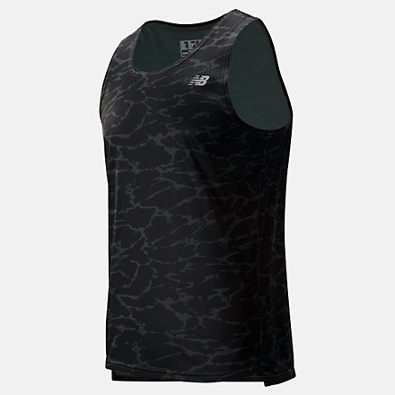 New Balance Printed Accelerate Singlet, MT93184SLP image number null