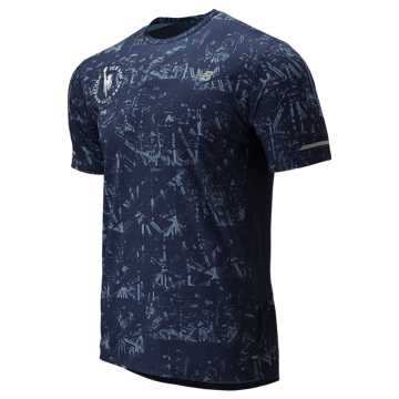 New Balance NYC Marathon P NB Ice 2.0 Short Sleeve, Pigment