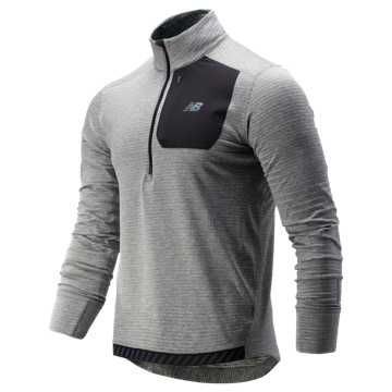 New Balance NB Heat QTR Zip, Athletic Grey