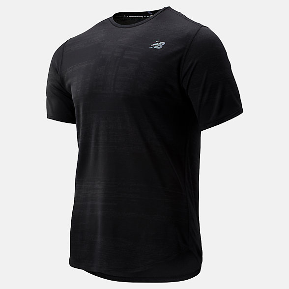 New Balance Q Speed Breathe Short Sleeve, MT93250BK