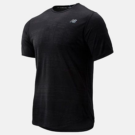 New Balance Q Speed Breathe Short Sleeve, MT93250BK image number null