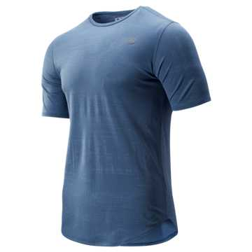 New Balance Q Speed Breathe Short Sleeve, Chambray