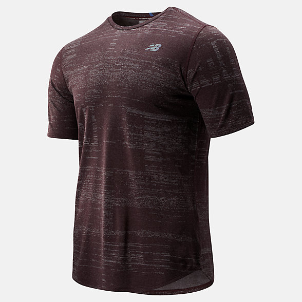 New Balance Q Speed Breathe Short Sleeve, MT93250HNA