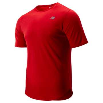 New Balance Q Speed Breathe Short Sleeve, Team Red