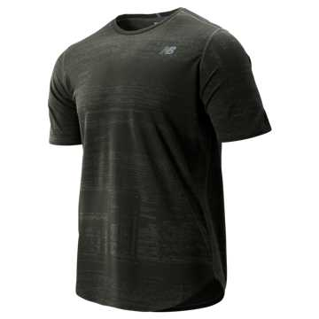 New Balance Q Speed Breathe Short Sleeve, Slate Green