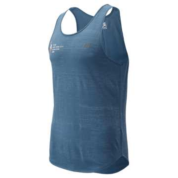 New Balance NYC Marathon Q Speed Breathe Tank, Chambray