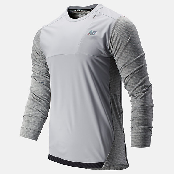 New Balance Q Speed Run Crew Pullover, MT93256AG