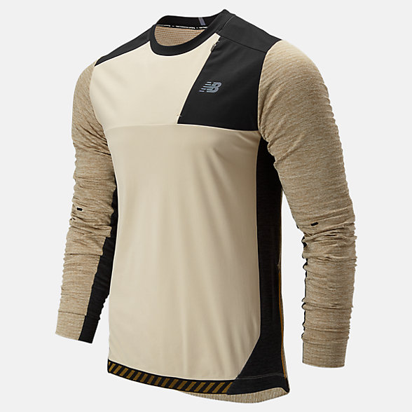 New Balance Q Speed Run Crew Pullover, MT93256BH