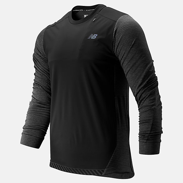 NB Q Speed Run Crew Pullover, MT93256HC