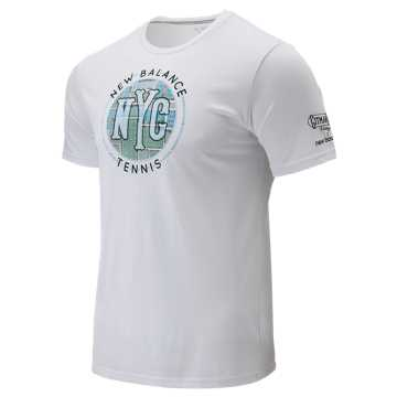New Balance Court Graphic Tee, White