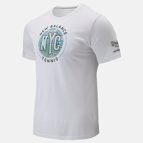 New Balance Court Graphic Tee, MT93418WT