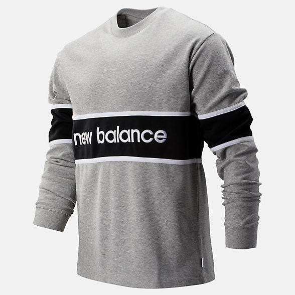 New Balance NB Athletics LS Archive Tee, MT93502AG