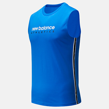 New Balance NB Athletic Tank, MT93505VCT image number null