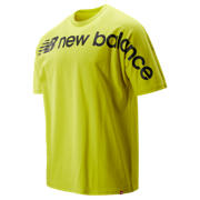 NB Sport Style Optiks Oversized Tee, Sulphur Yellow