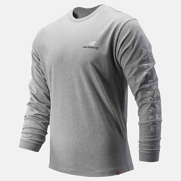 New Balance NB Athletics Archive Long Sleeve Tee, MT93520AG