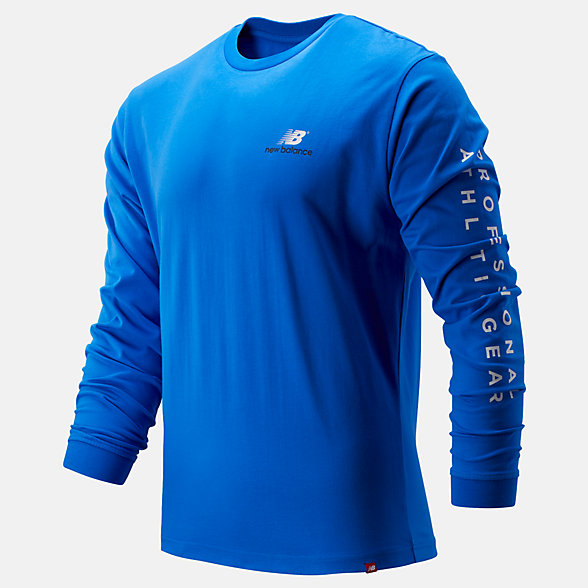 NB NB Athletics Archive Long Sleeve T-Shirt, MT93520VCT