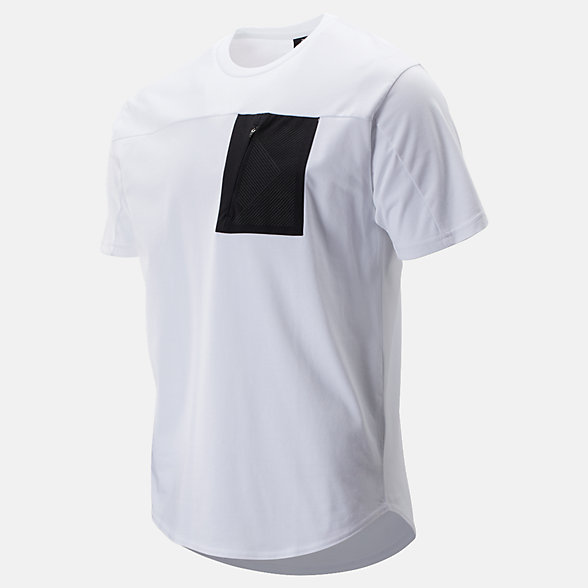 NB Sport Style Pocket T-Shirt, MT93535WT