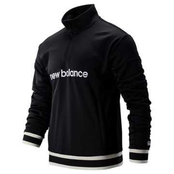 New Balance NB Athletics Stadium Track Pullover, Black
