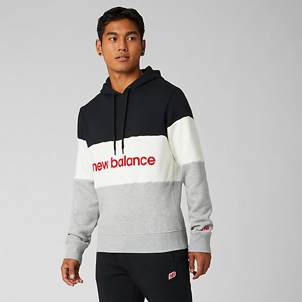 New Balance NB Athletics Stadium Hoodie, MT93545BKW