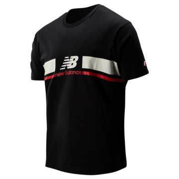 New Balance NB Athletics Stadium Tee, Black