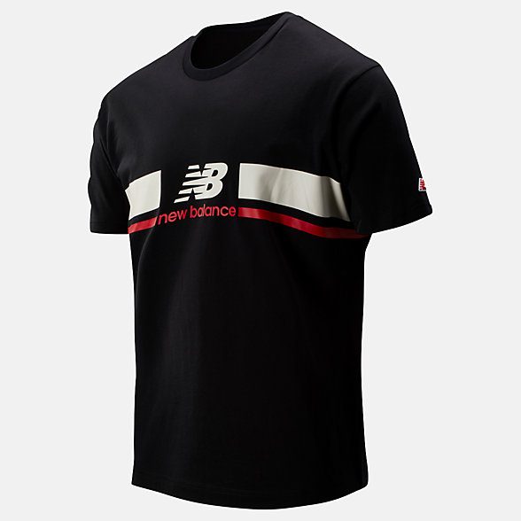 New Balance NB Athletics Stadium Tee, MT93550BK