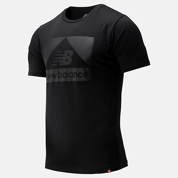 NB Essentials Mega Stealth Tee, MT93553BK