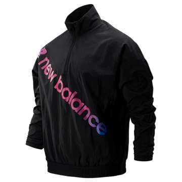New Balance Sport Style Optiks Anorak, Black
