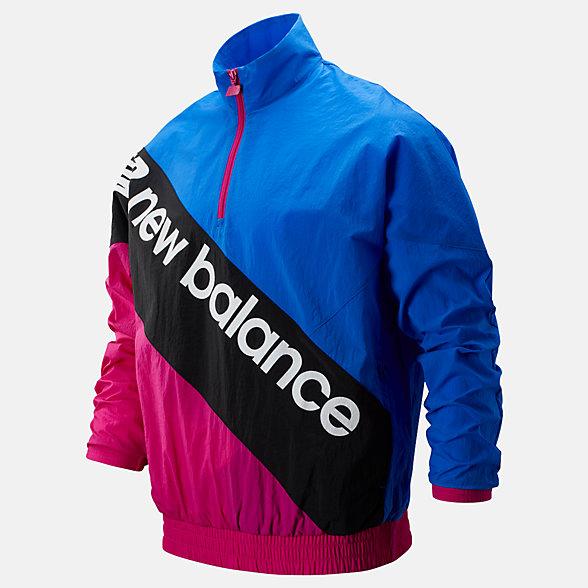 New Balance Sport Style Optiks Anorak, MT93579BM